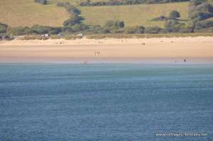 swimming on the kerloch beach.JPG